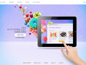 oxxy website builder homepage