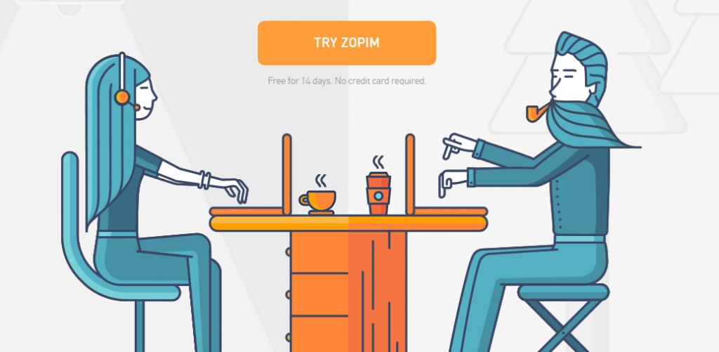 Zopim - verktyg för entreprenörer