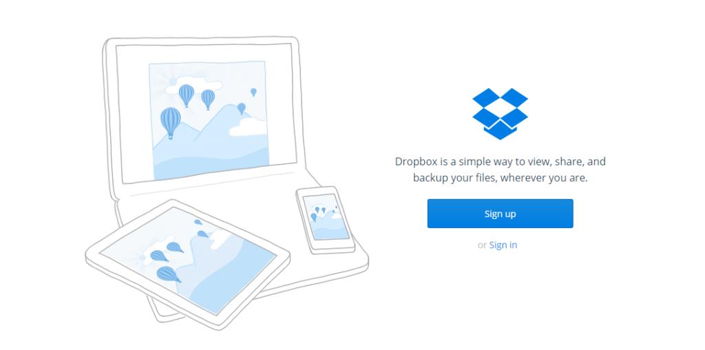 Dropbox - verktyg för entreprenörer