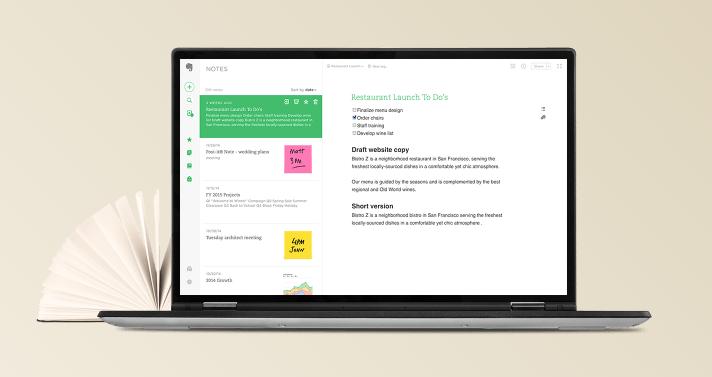 Evernote - verktyg för entreprenörer