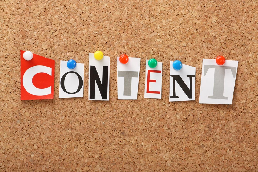 Have great content to make your website social media friendly