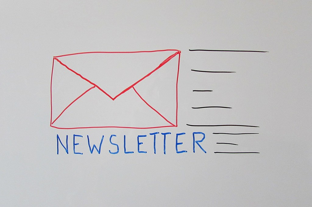 Promoting a website through email marketing