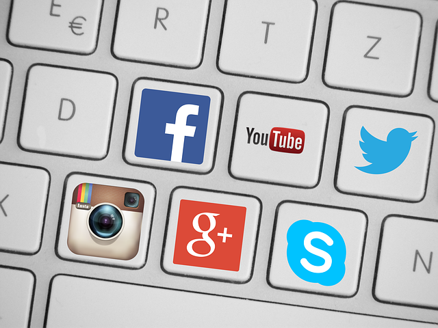 Add links to your social media profiles to make your website more social media friendly