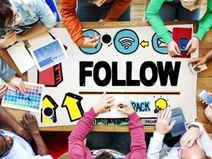 följa webbdesigner
