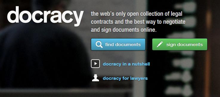 docracy - verktyg för entreprenörer