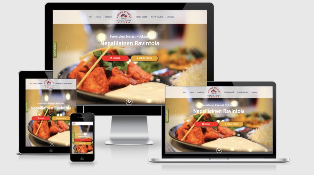Уебсайт на ресторант