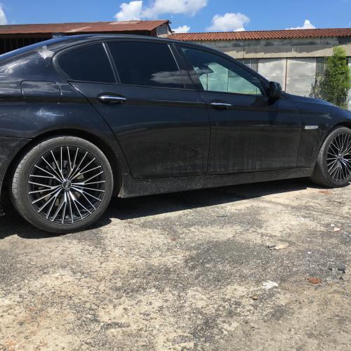 BMW F10 Vs 19inch OZ Ego wheels Sport