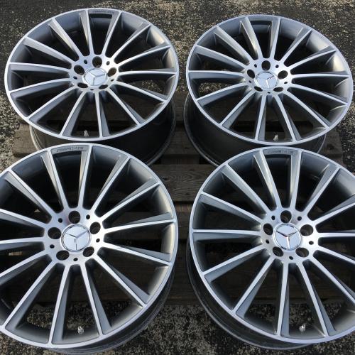 20inch wheels 5x112 Mercedes AMG S-Klasse S63 АМГ W222 C217 A217 Original A2224010400 A2224010500