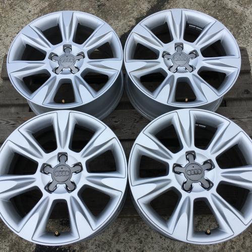"""17"""" джанти 5х112 Ауди А4 Audi A4 S Line Allroad Оригинални! ТОП! 8K0601025AF"""