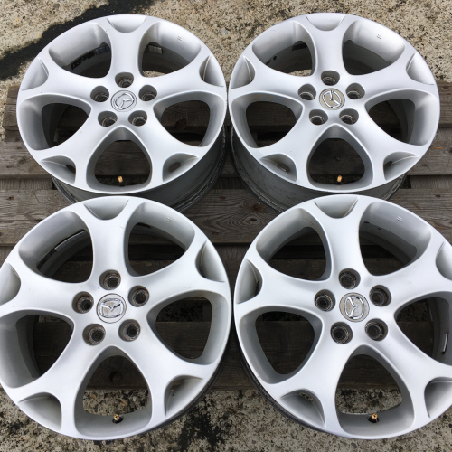 "17"" джанти 5х114,3 Мазда 3 Mazda 3 sport Оригинал Като нови"