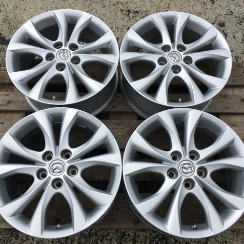 """17"""" джанти 5х114,3 Мазда Mazda 3+датчици Оригинални! Топ състояние!"""