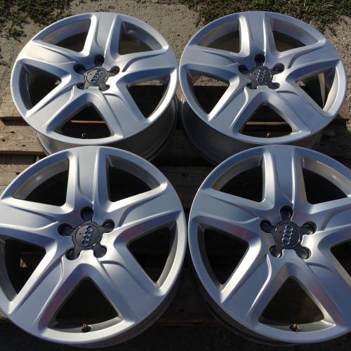 """18"""" джанти 5х112 Ауди А6 Audi A6 S6 4G 4G9 Allroad S-Line Оригинални!"""