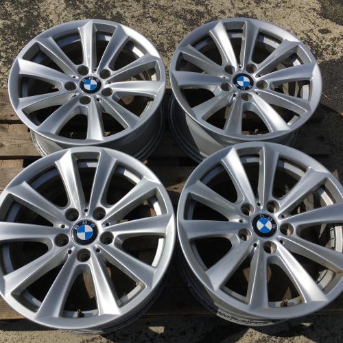 """17"""" джанти 5х120 БМВ 5 BMW 5 F06 F10 F11 F12 Оригинал Топ състояние"""