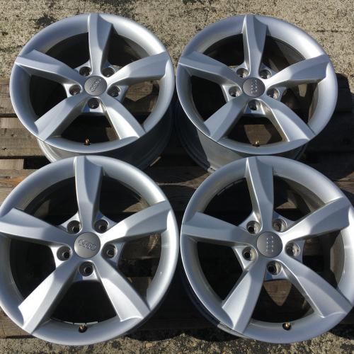 """16"""" джанти 5х112 Ауди А6 Audi A6 C7 4G S-Line Като Нови Оригинал 4G0071496"""