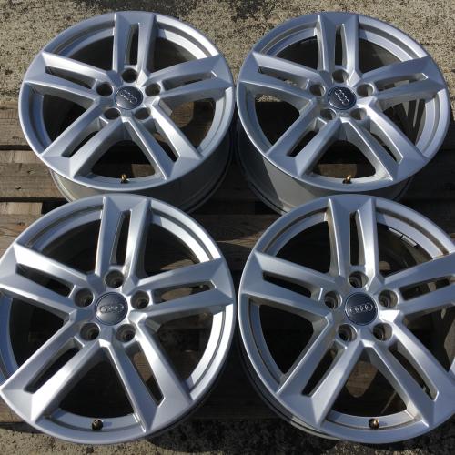 """17"""" джанти 5х112 Ауди А4 Audi A4 S4 8W B9 S-Line Като Нови Оригинал 8W0601025P"""