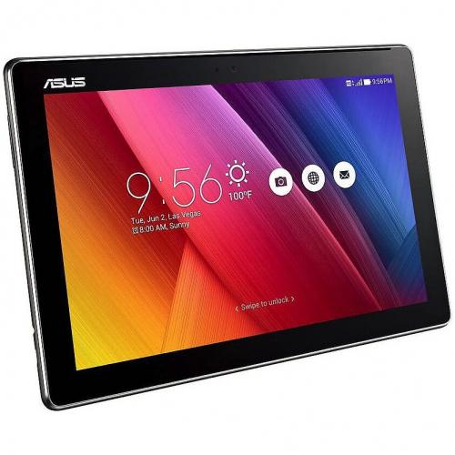 """Таблет ASUS ZenPad Z300CNL-6A035A, Тъмно сив с 4G модул с процесор Intel Atom Z3560 (1.83GHz), 10.1"""", 2 GB, 32 GB, Android 5.0 Lollipop, Wi-Fi, 3G, Тъмно сив"""