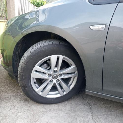 Opel Astra K Vs 16 wheels Astra J
