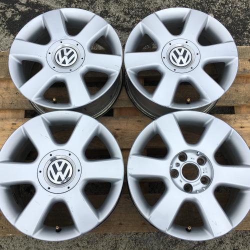 """16"""" джанти 5х112 Фолксваген VW Golf 5 6 Touran Оригинални!"""
