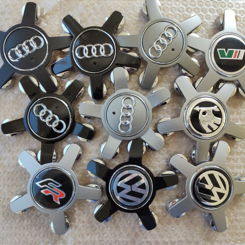 Капачки за джанти Audi A3 A4 A5 A6 A7 A8 Q2 Q3 Q5 R8-135мм Seat Skoda Volkswagen