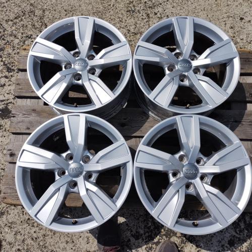16 джанти 5х112 Audi A4 8W B9 Ауди А4 7J et35 Оригинал Топ ниво 8W0601025A