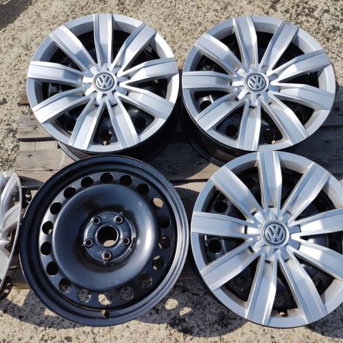 17 джанти 5х112 VW Tiguan 5NA Фолксваген Тигуан Оригинал 5QF601027