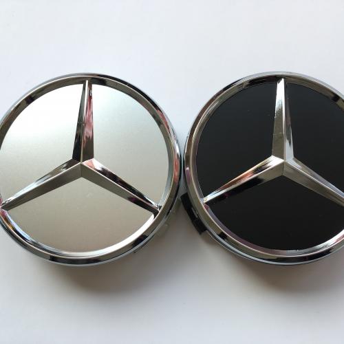 Капачки за джанти Мерцедес Mercedes 75мм външен размер