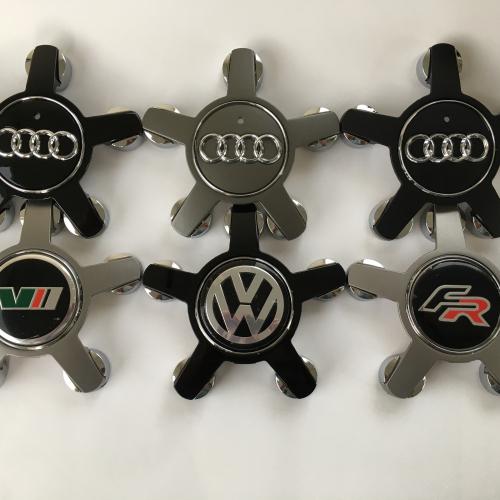 Капачки за Audi A3 A4 A5 A6 A7 A8 Q5 R8 S4 S5 S6 TT-135мм 4F0601165N Фолксваген Сеат Шкода