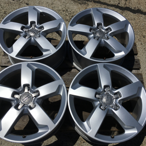 "19"" wheels 5х130 Audi Q7 Facelift Original Top condition 4L0601025AH"
