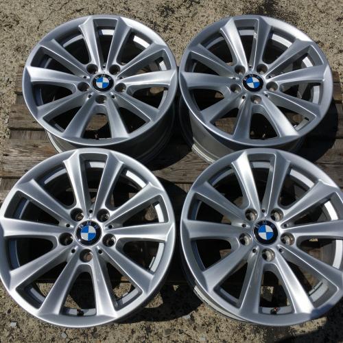 "17"" джанти 5х120 БМВ 5 BMW 5 F06 F10 F11 F12 Оригинал Като Нови 6780720"