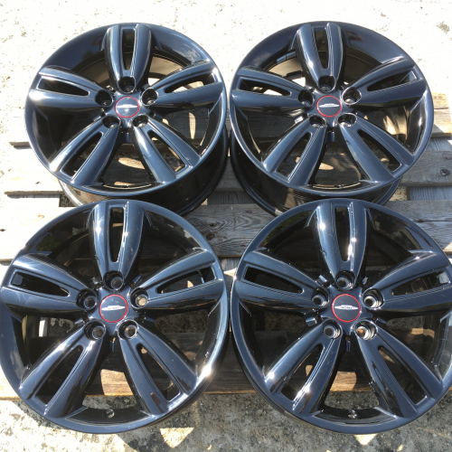 "17"" джанти 5х112 Мини Купър Уъркс Mini Cooper S JCW Оригинал Топ ниво 6866366 Black"