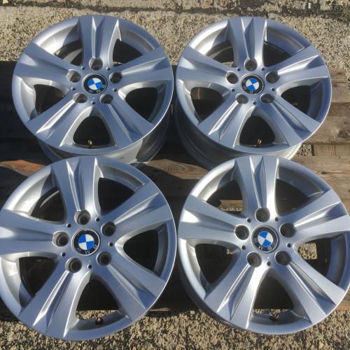 """16"""" джанти 5х120 БМВ 1 серия BMW E81 E82 E87 E88 Оригинал Като нови!"""
