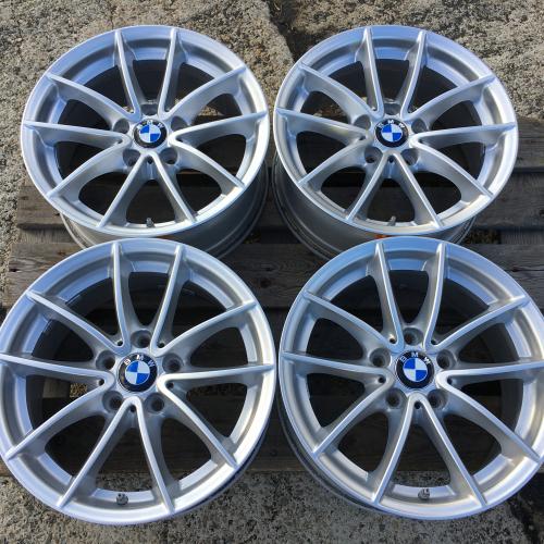 """17"""" джанти 5х120 БМВ Х3 Х4 BMW X3 X4 F25 F26 Оригинал Топ ниво Датчици BMW6787575"""