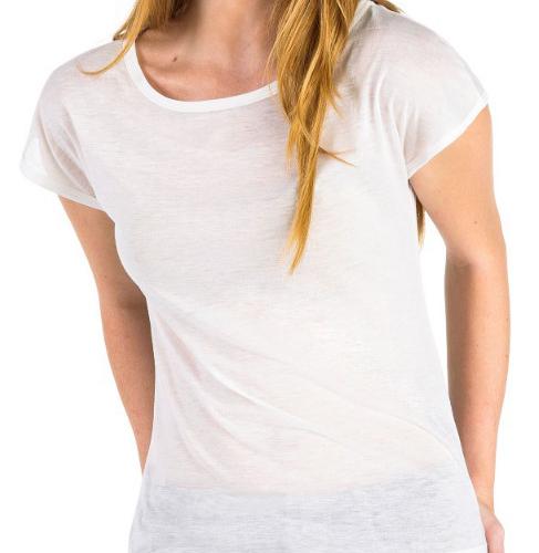 Дамска  бяла тениска със снимка или надпис по Ваша идея