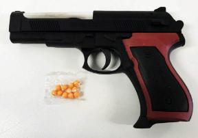 Пистолет с топчета 15 см
