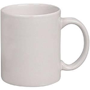 Бяла чаша с Ваша снимка или надпис