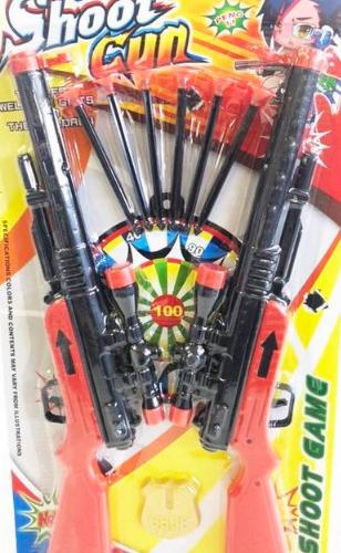 Пушки 2 бр. с  6 бр. стрели и значка