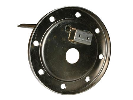 Фланец за Елдом Инвест кръгъл 8 отвора, една тръба , неръждавейка