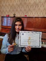 Гордост за всички нас е успешното представяне на Кия Иванова