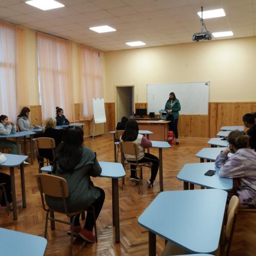 Вълнуваща среща с младата авторка Мирая Гешева